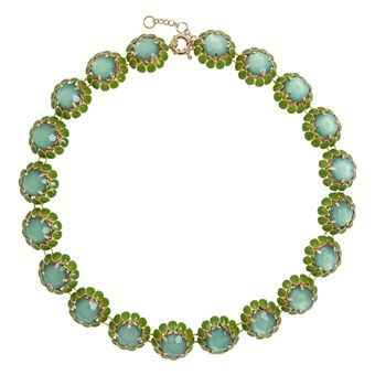 MINT,BLOSSOM,NECKLACE