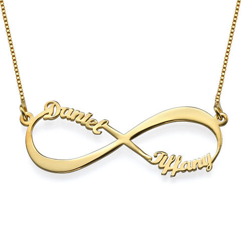INFINITY,NAME,NECKLACE,-Gold,Monogram Necklace, Name Plate Necklace, Name Bar Necklace
