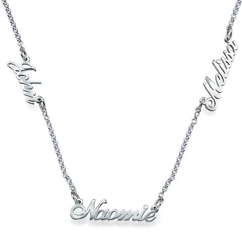 MULTIPLE,NAME,NECKLACE,MULTIPLE NAME NECKLACE