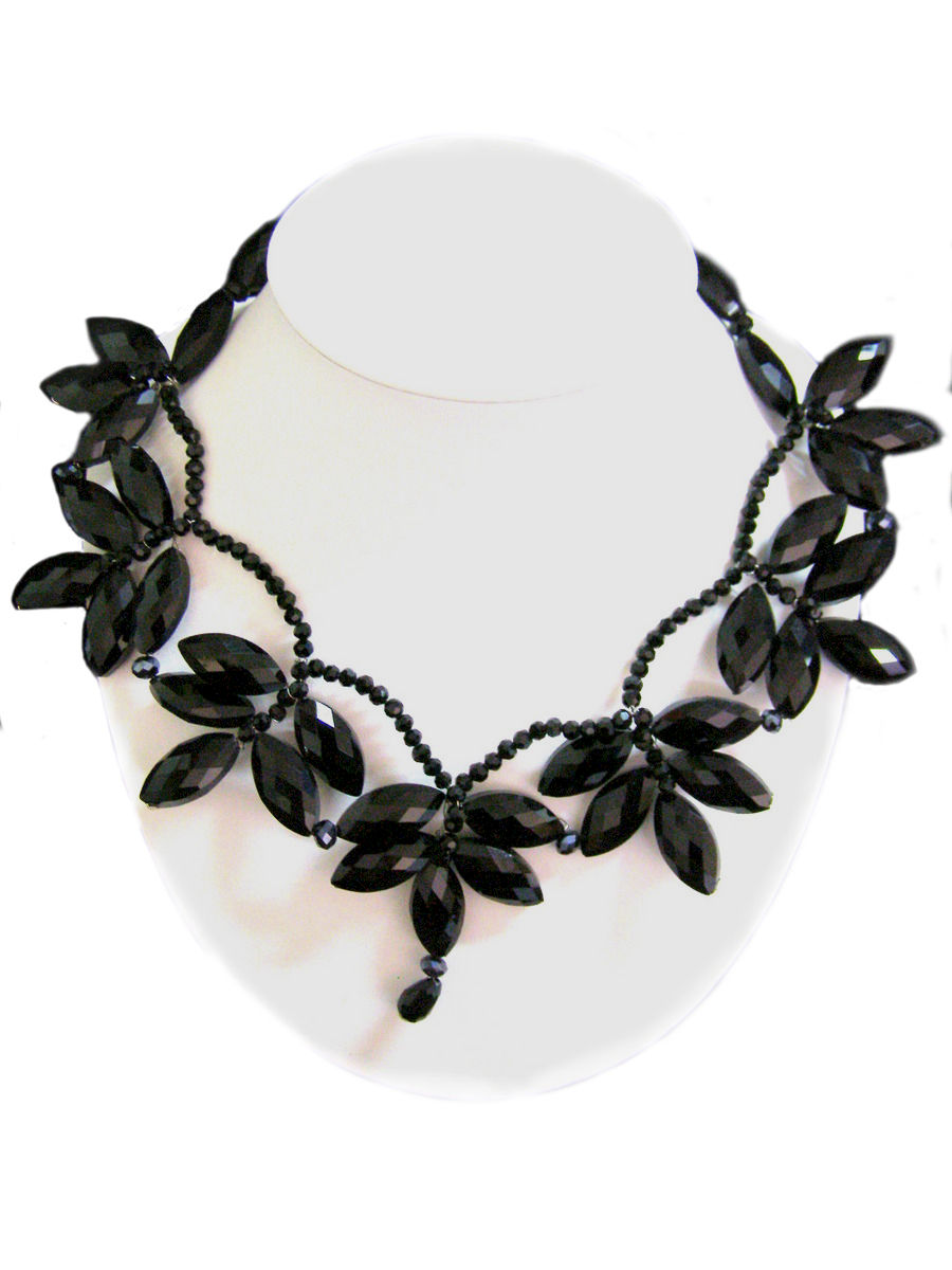 terracotta costume jewellery black necklace products handmade earrings