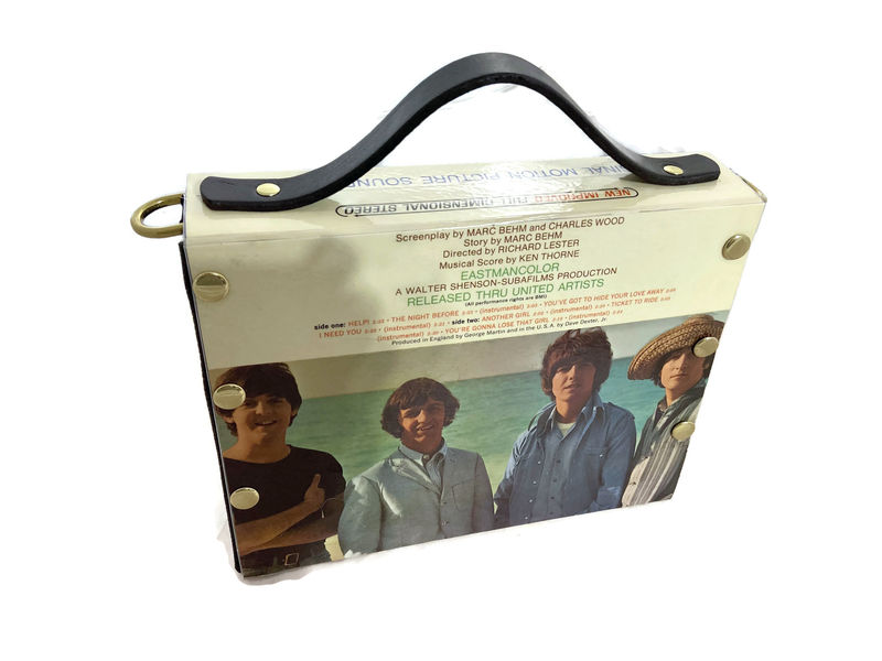 The Beatles Help Record Album Cover Bag - product images  of