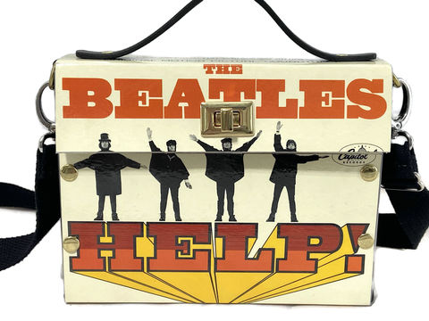 The,Beatles,Help,Record,Album,Cover,Bag,The Beatles, McCartney, Lennon, Harrison, Beatles Collectible