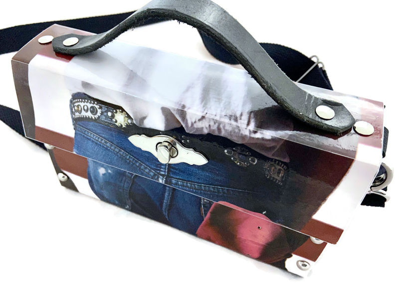 Bruce Springsteen Born in the USA Record Album Cover Bag - product images  of