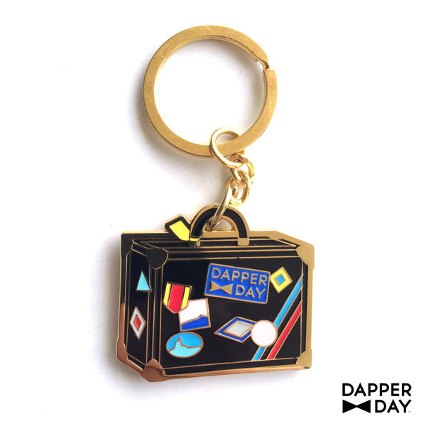 Dapper Day Suitcase Key Charm - product images