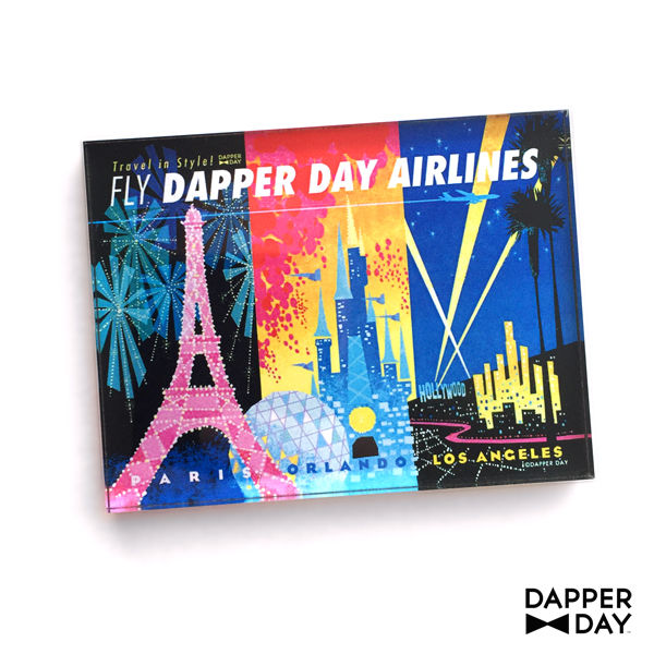 DAPPER DAY Airlines Magnet - product images