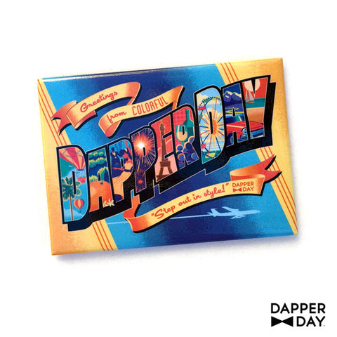 DAPPER,DAY,Postcard,Magnet