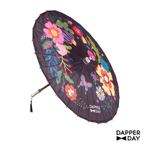 Garden,Party,Parasol,(Black),garden party parasol Dapper Day