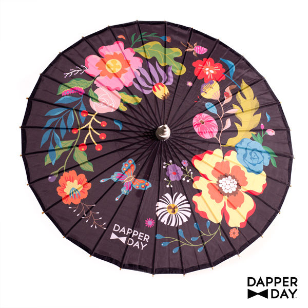 Garden Party Parasol (Black) - product images  of