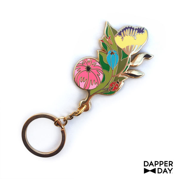 Garden Party Key Charm - product images  of