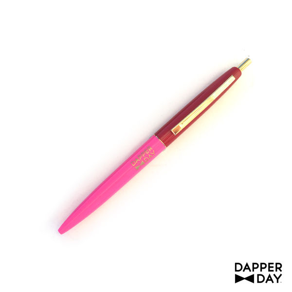 Pink and Red DAPPER DAY Pen - product images