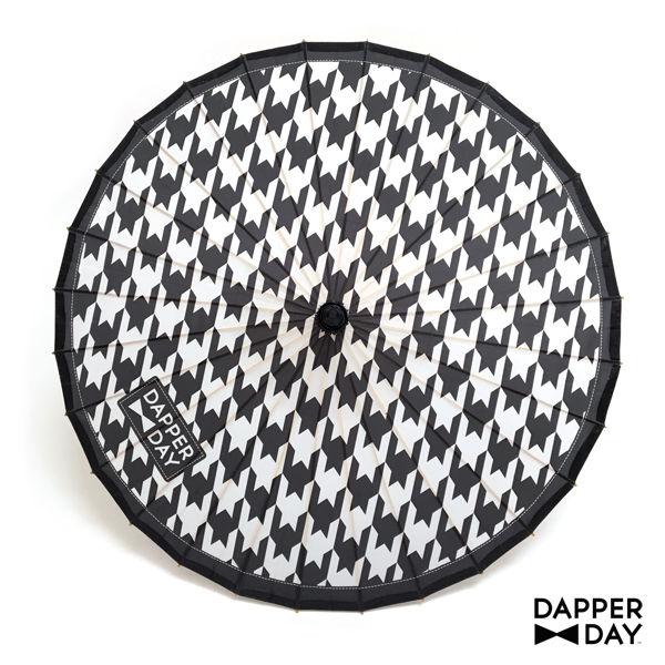 Houndstooth Print Parasol - product images  of