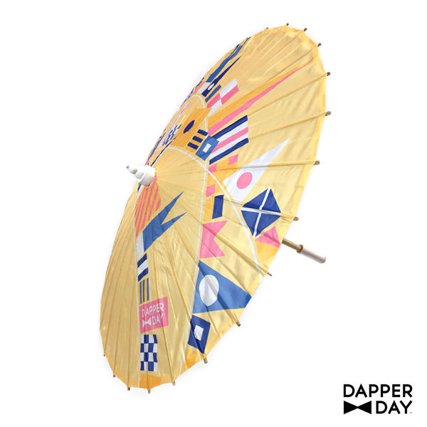 Flags Ahoy Parasol in Yellow - product images  of