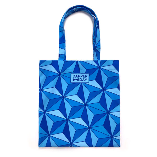 Sharkstooth Print Snap Tote Bag - product images