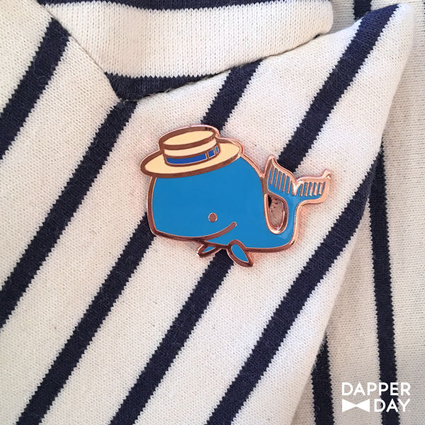 Happy Whale Pin - product images  of