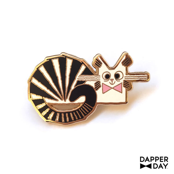 Cheshire Cat Pin - product images  of