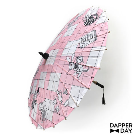 Wonderland,Print,Parasol,Alice in wonderland parasol Dapper Day