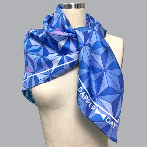 Sharkstooth Print Silk Scarf - product images  of