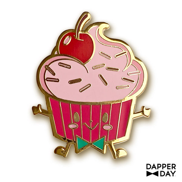 Yummerz Cherry Cupcake Pin - product images  of