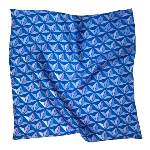 Sharkstooth,Print,Pocket,Square,silk pocket square epcot spaceship earth