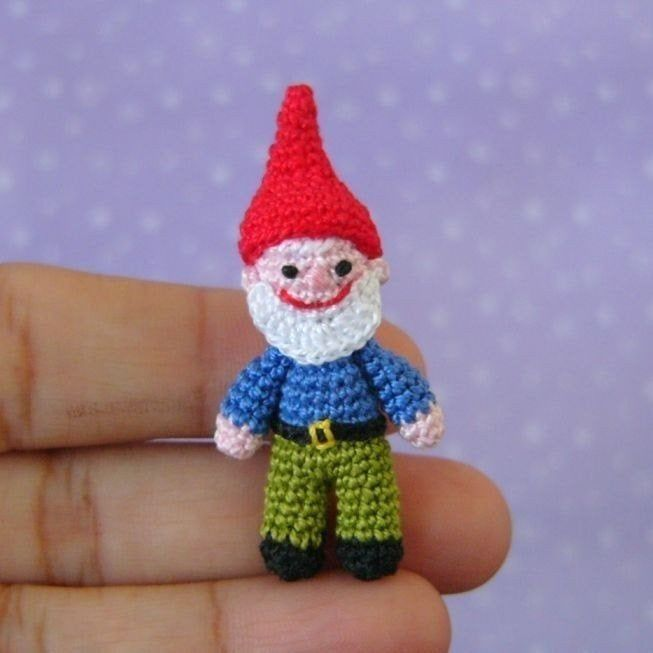 Forrest the Gnome Crochet Amigurumi Pattern – Shiny Happy World   653x653