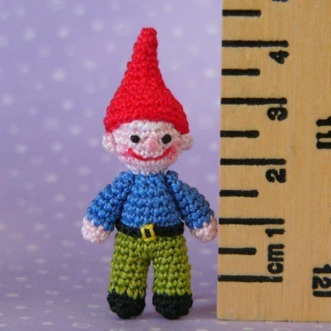 Garden Gnome - Amigurumi Crochet PDF Pattern - product images  of