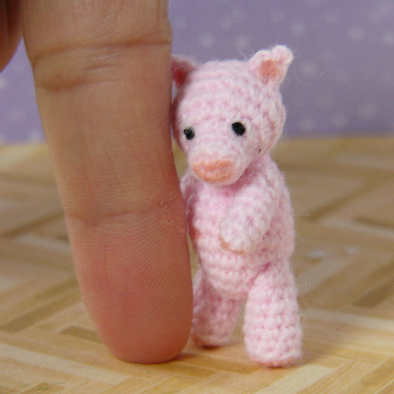 Wilbur the Pig - Amigurumi Crochet PDF Pattern - product images  of