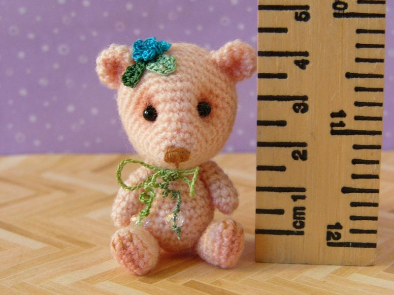 Primulina Bear - Amigurumi Crochet PDF Pattern - product images  of