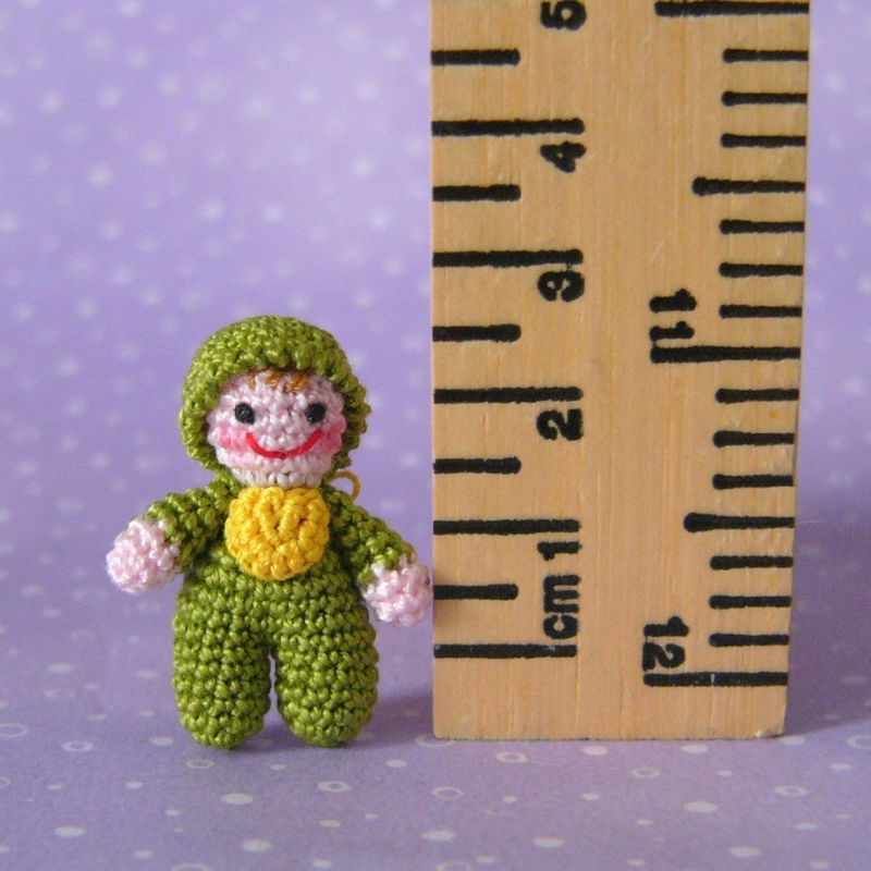 Itty Bitty Baby Doll - Amigurumi Crochet PDF Pattern - product images  of