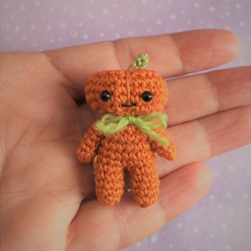 Pumpkin Man - Amigurumi Crochet PDF Pattern - product images  of