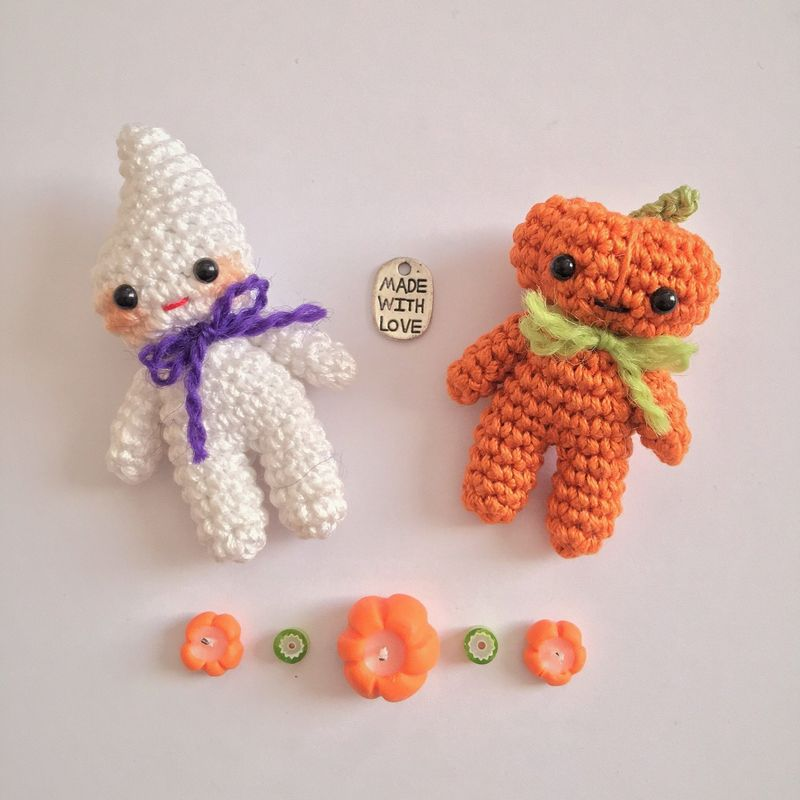 Chibi Ghost - Amigurumi Crochet PDF Pattern - product images  of