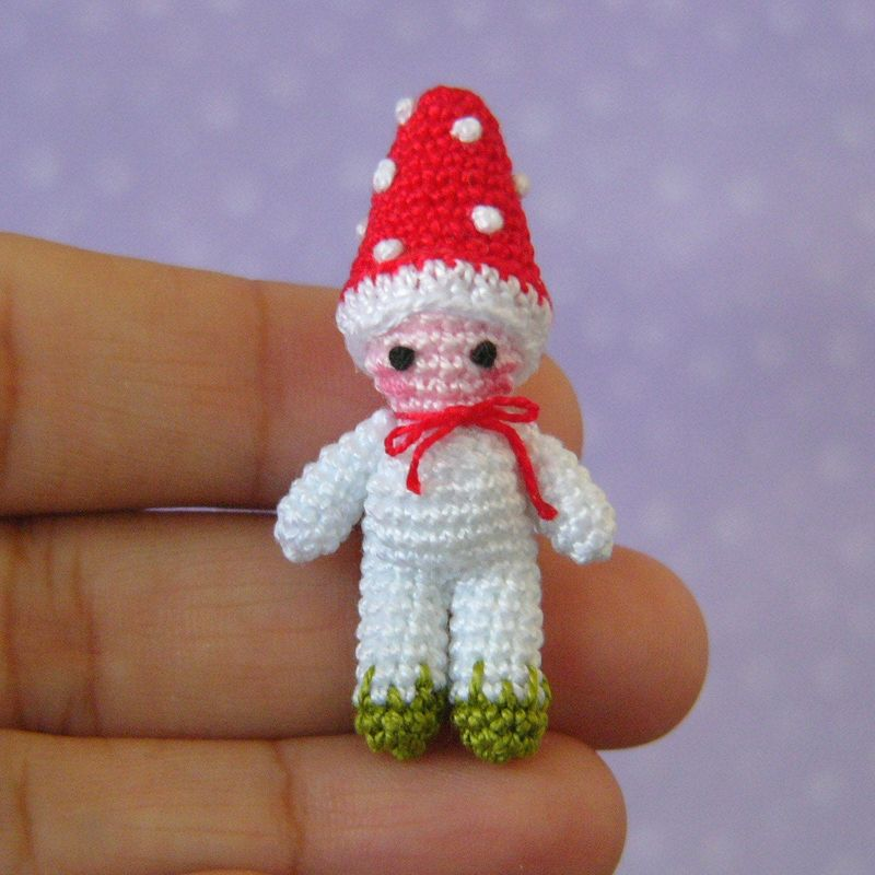 Toadstool Doll - Amigurumi Crochet PDF Pattern - product images  of
