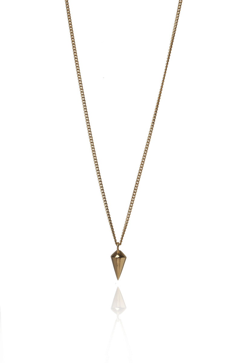 Silver Spike Necklace - product images  of