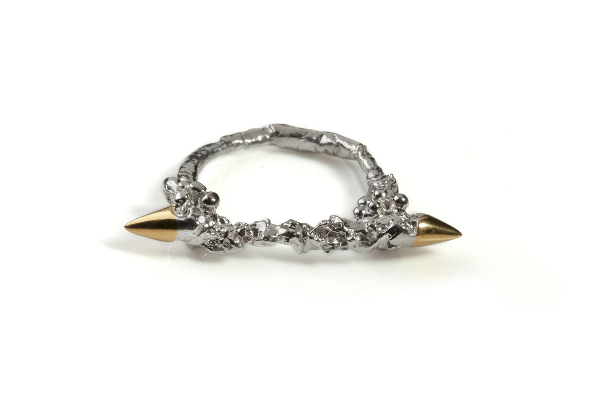 Silver Thorn Ring - product images  of
