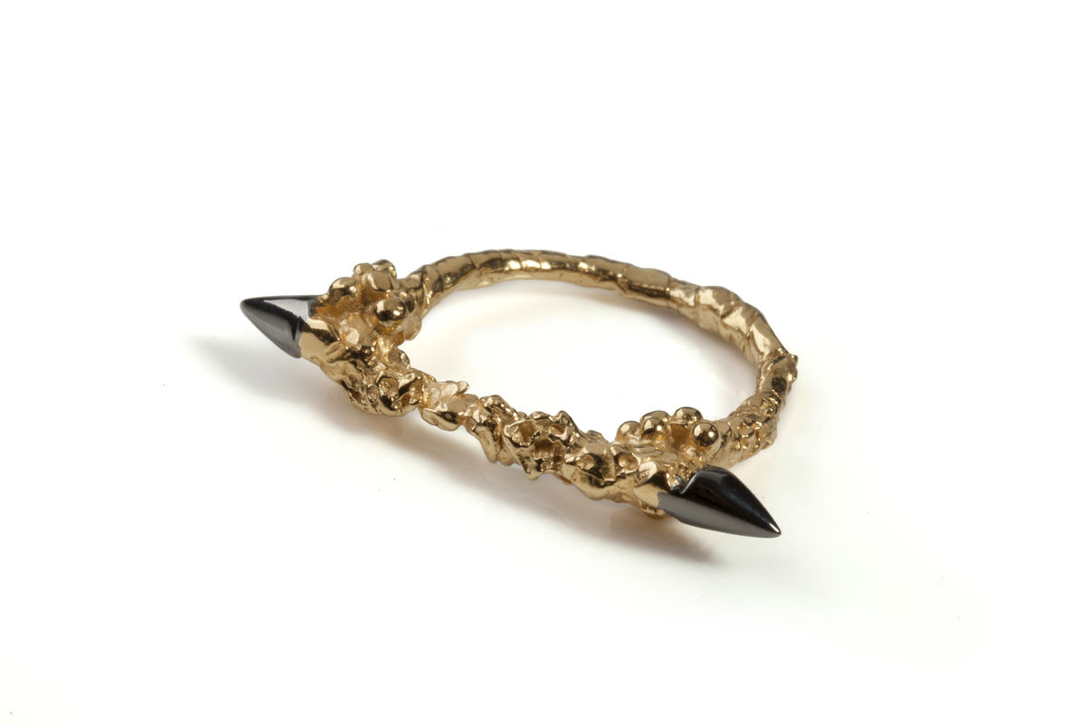 Gold Thorn Ring - product images  of