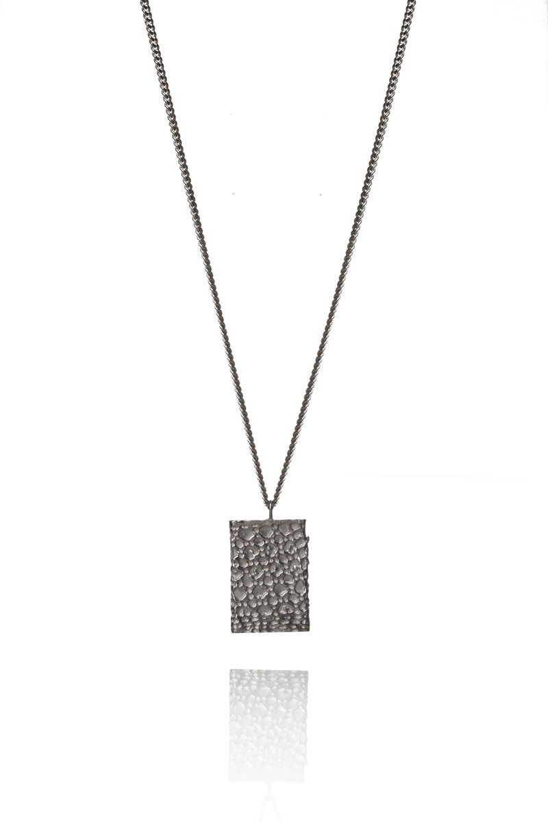 Silver Fortress Necklace - product images  of