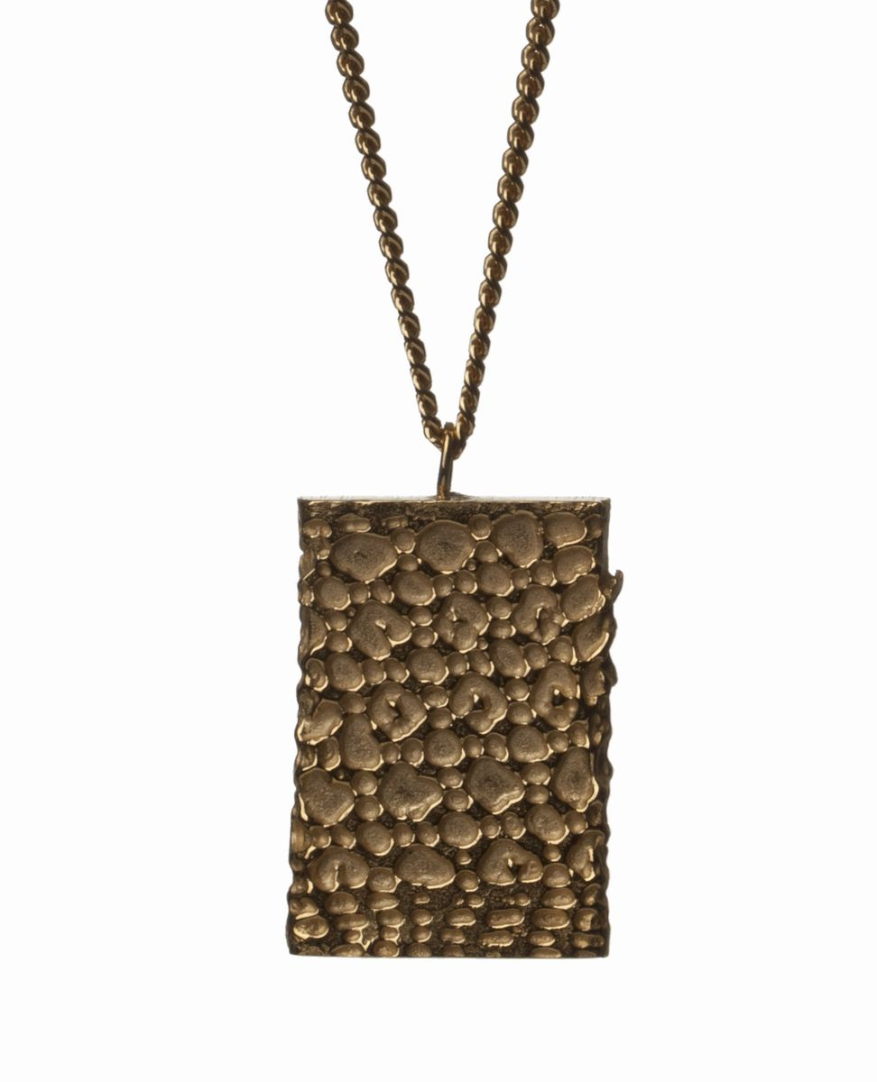Gold Fortress Necklace - product images  of