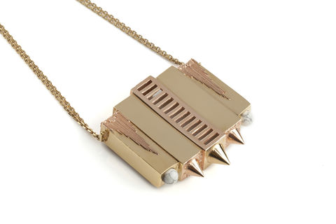 SkyLab,Necklace,Skylab, neckpiece, statement, style, fashion