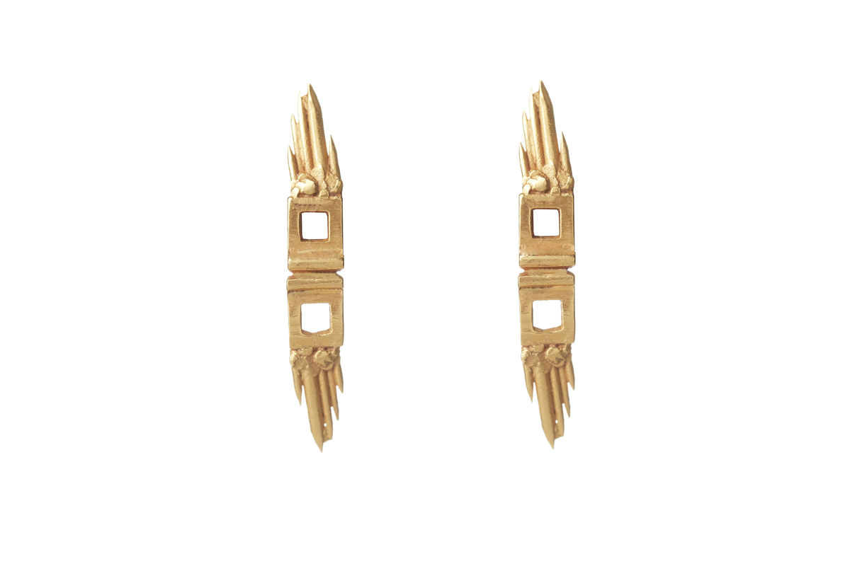 Gold Skyflight Earrings - product images  of