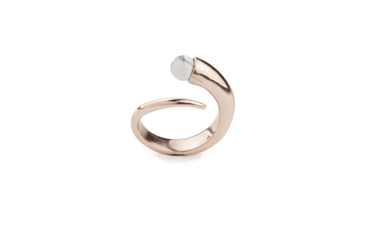 Orb Ring in Rose - product images  of