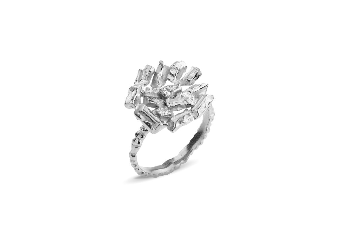 Large Icy Carve Ring - product images  of