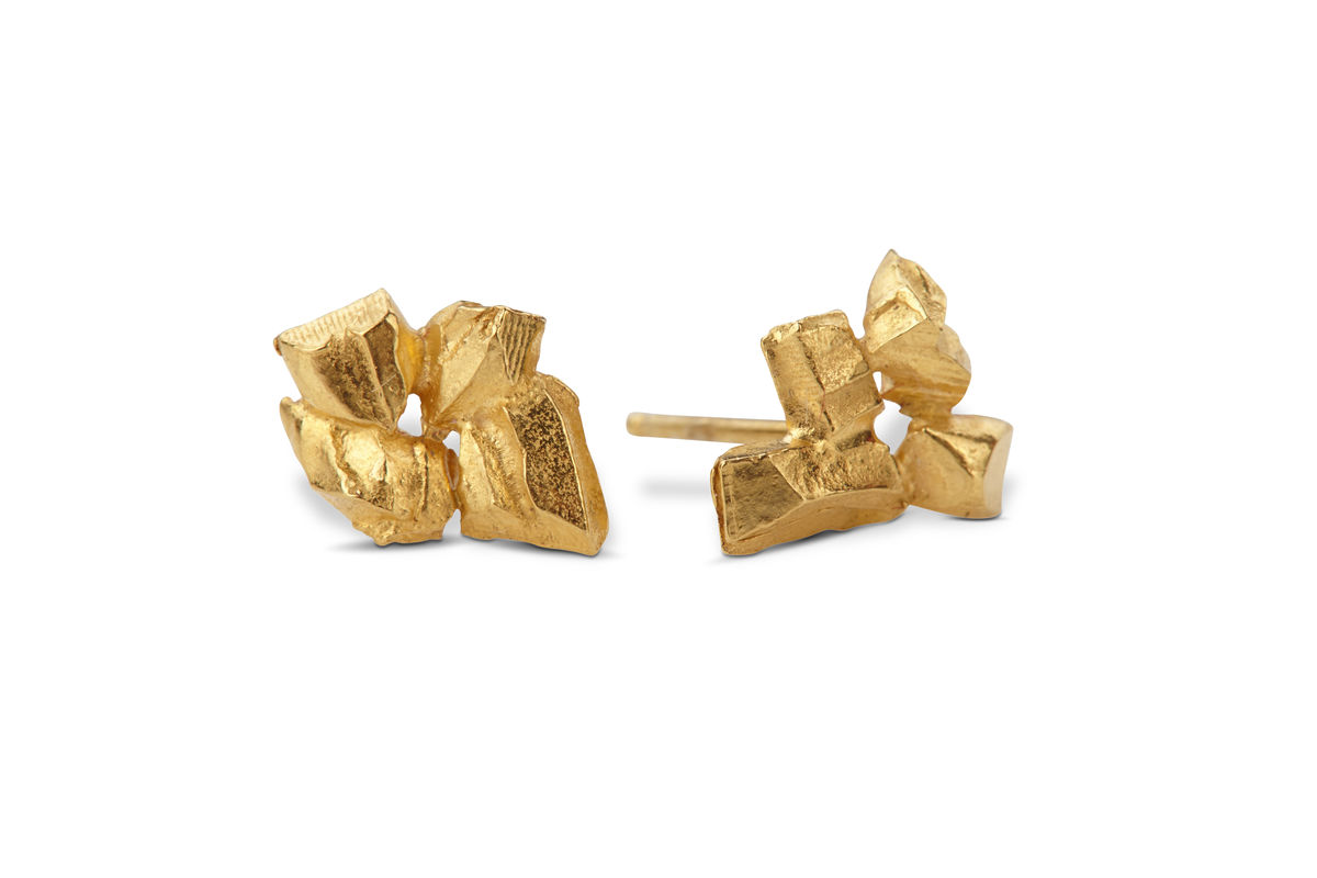 Coupled & Carved Earrings - product images  of