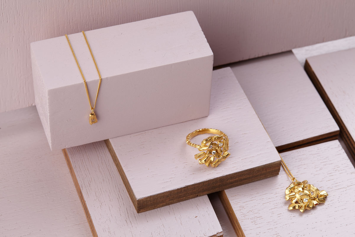 Golden Carve Necklace - product images  of