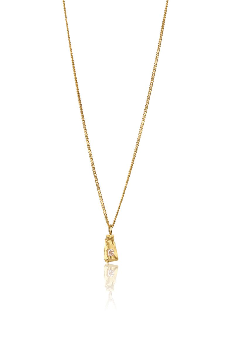 Solo Golden Carve Necklace - product images  of