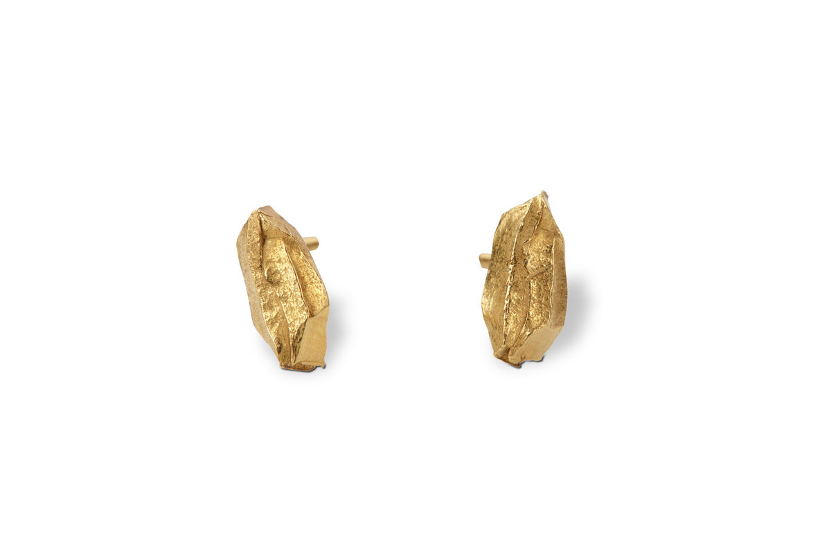 Solo Carved Earrings - product images  of