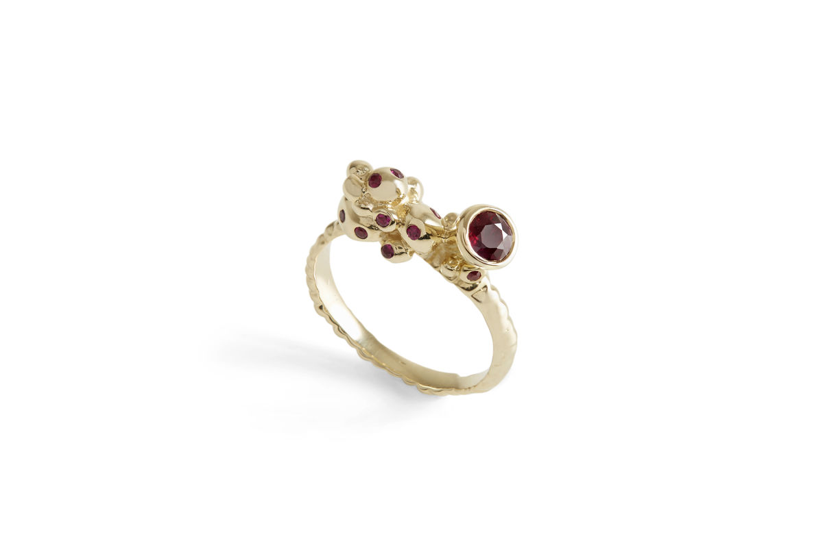 Ruby Stud Revival Ring - product images  of