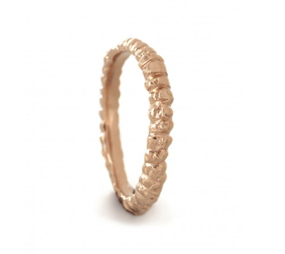 Rose,Fine,Band,Ring,fine jewellery, fine band, rose gold