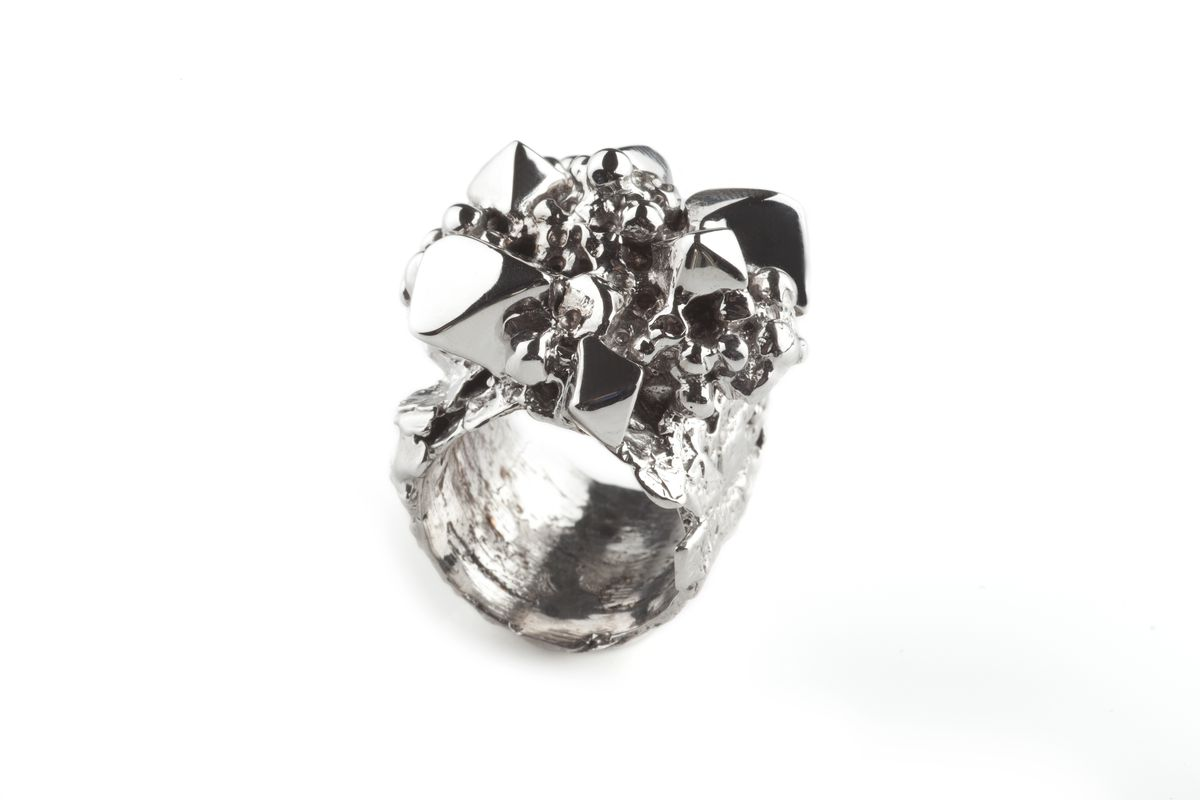 White Asteroid Ring - product images  of