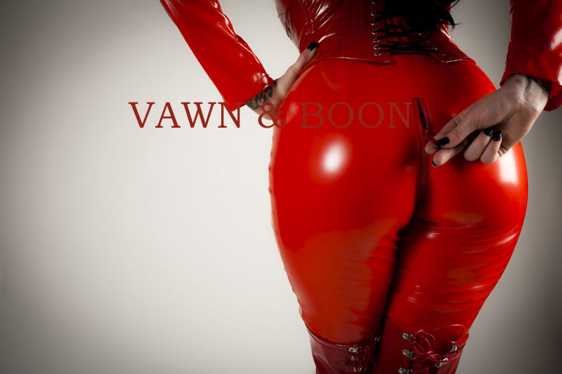 Red Matriarch PVC Catsuit - product images  of