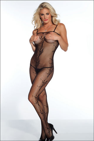 Coquette,Crotchless,Fishnet,Bodystocking