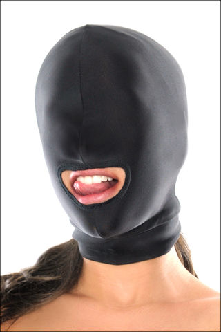 UNISEX,Spandex,Open,Mouth,Hood